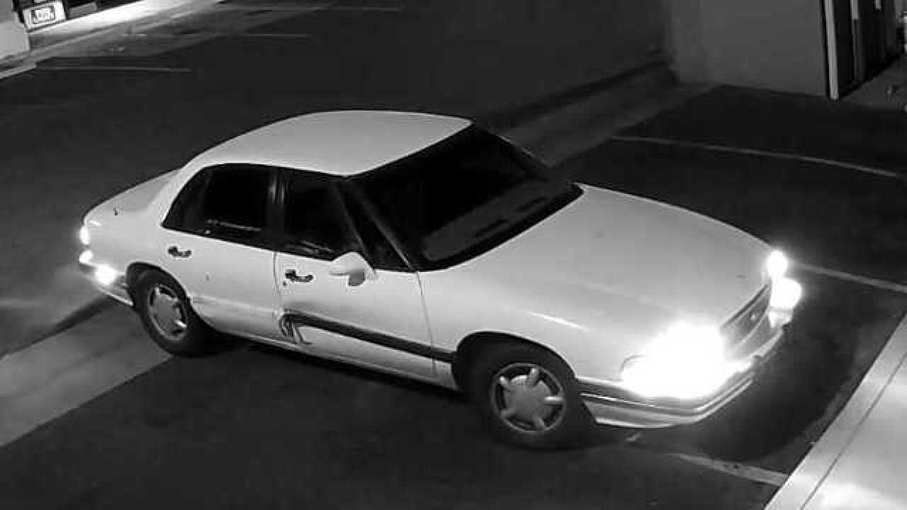 BPD searching for white Buick involved in burglary