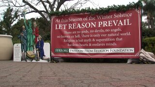 Freedom From Religion Sign in Balboa Park