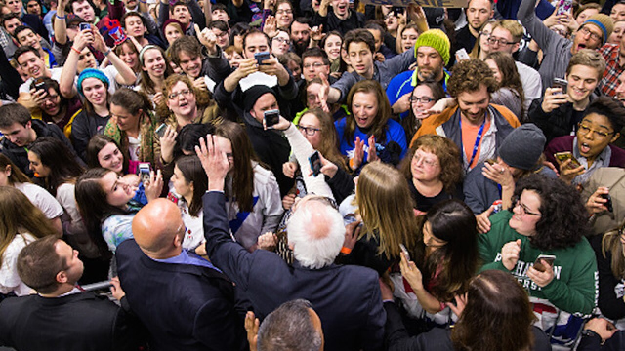 Sanders supporters upset with delegate count