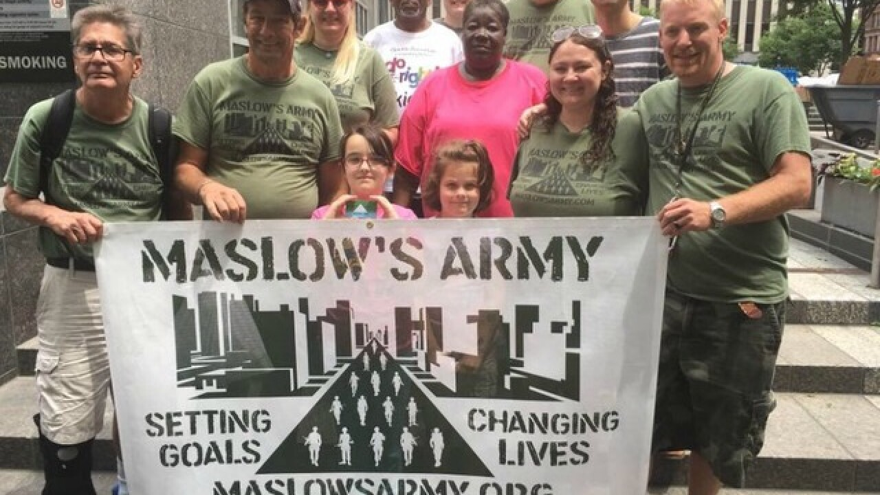 Maslow's Army: Group that helps homeless needs new location by month's end
