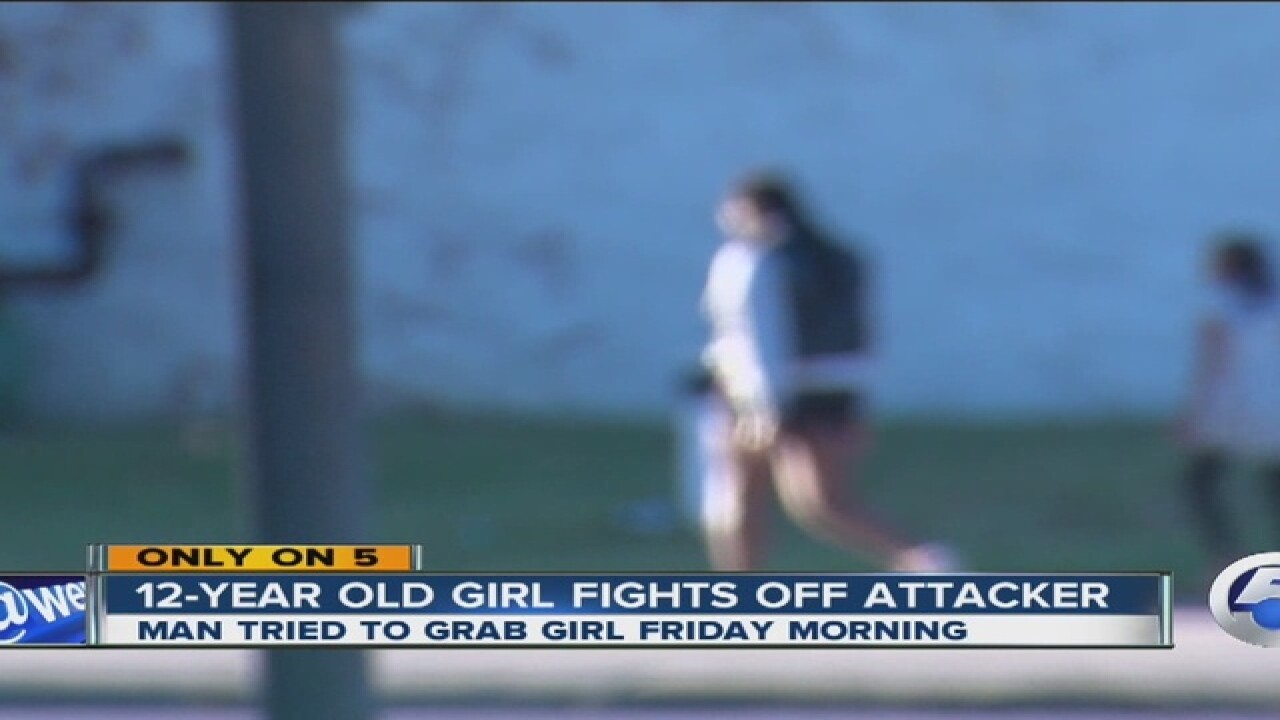12-year-old girl fights off would-be kidnapper