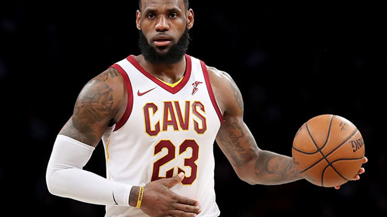 LeBron James sued for ripping off TV show, according to TMZ