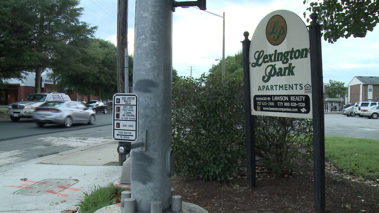 Norfolk apartment complex works to take back community after 7-year-oldshot