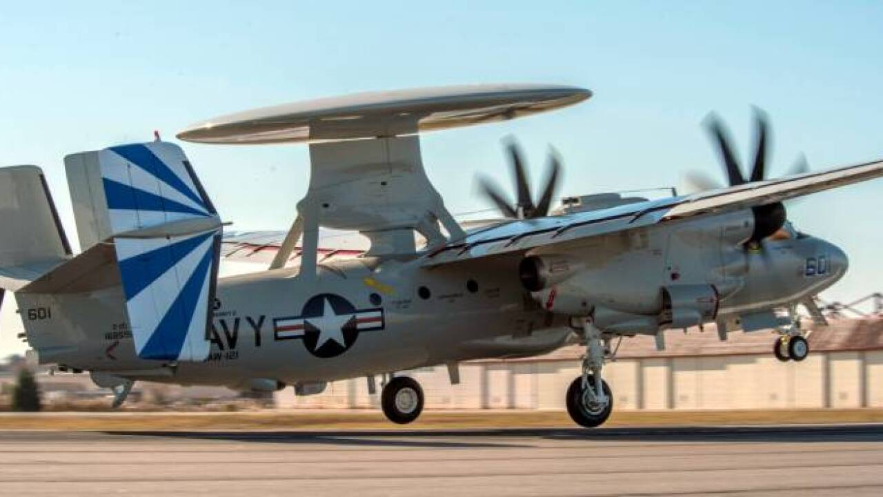 Squadron of the Month: VAW-121Bluetails