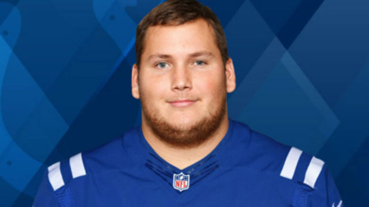Schwenke's return gives Colts' offensive line a boost
