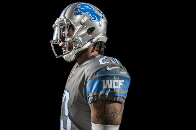 fbd53367 Photo gallery: Detroit Lions unveil four new uniforms