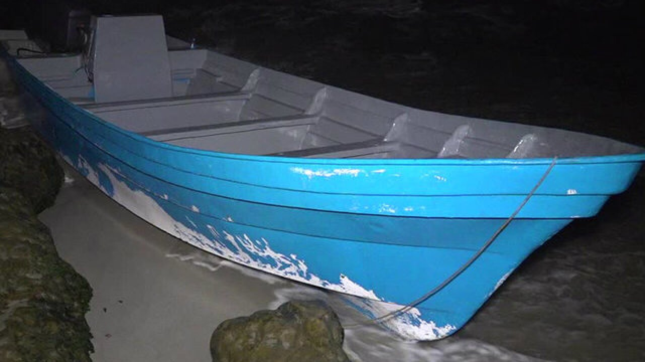 10 arrested after boat washes ashore of La Jolla