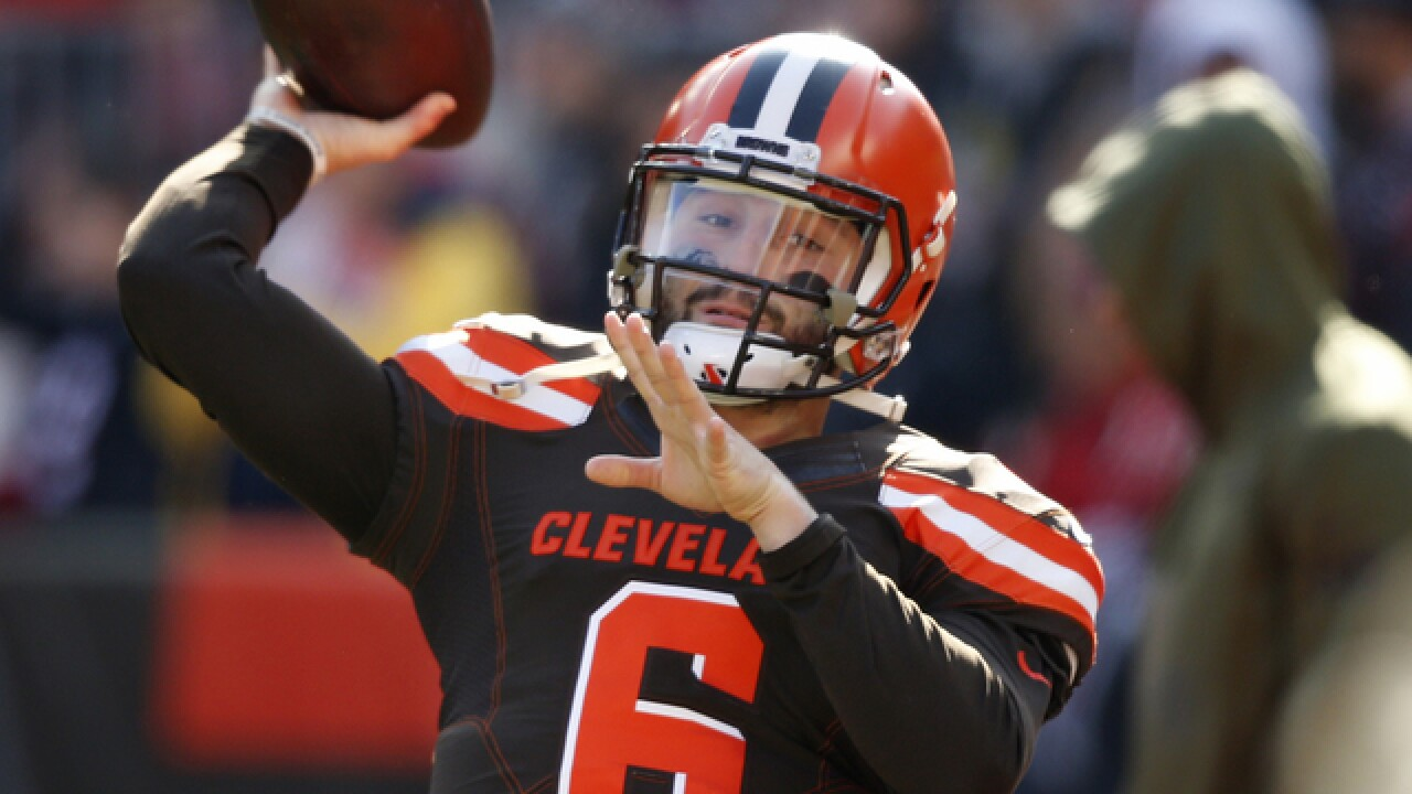 Browns get first touchdown in first quarter for first time this season against Falcons