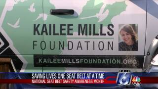 Kailee Mills Foundation reminds in saving lives one seat at a time