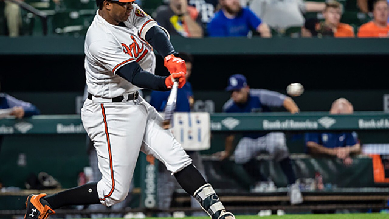 Orioles trade Jonathan Schoop to Milwaukee Brewers