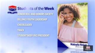 Students of the Week: Makayla Heiser and Destiny Rodenberger of Senior High School