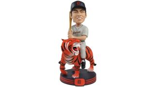 A bobblehead of Al Kaline riding a tiger? It now exists!