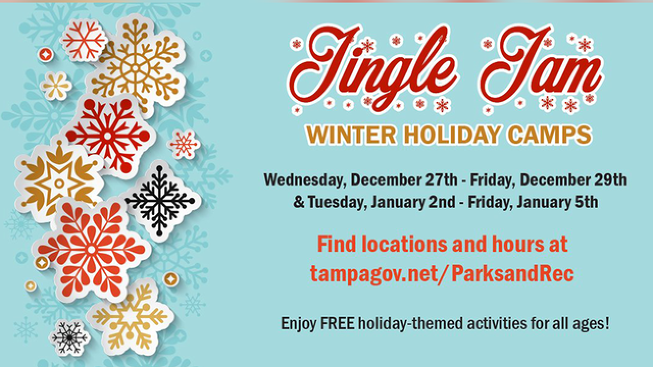City of Tampa Parks & Rec Presents 'Jingle Jam'