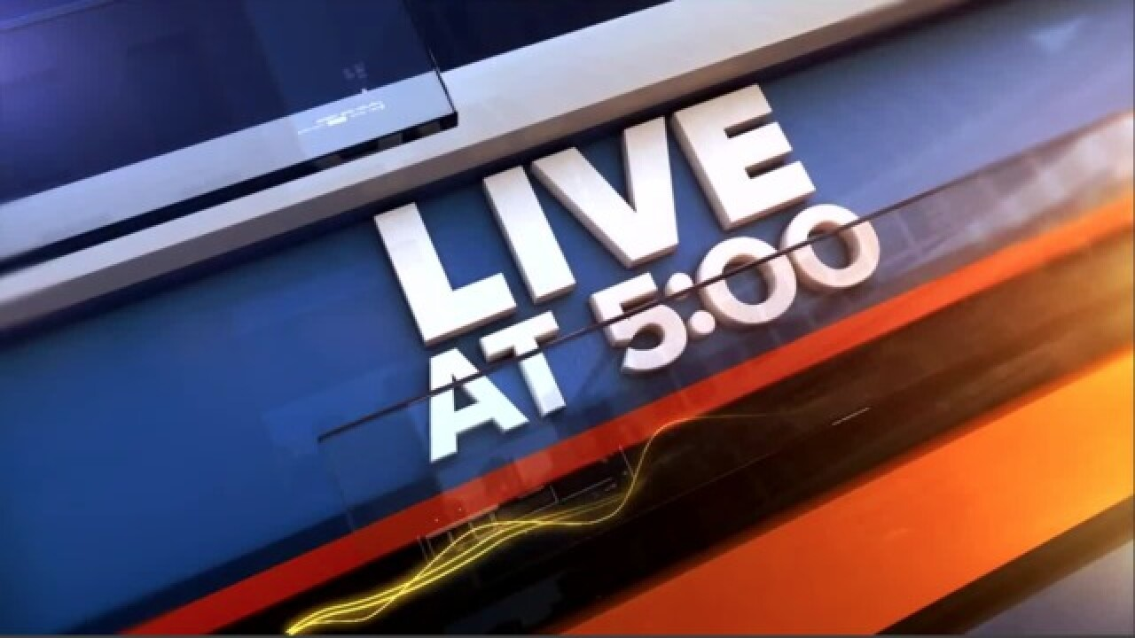PROGRAMMING ALERT: Live at 5 airing on TODAY'S TMJ4 digital platforms