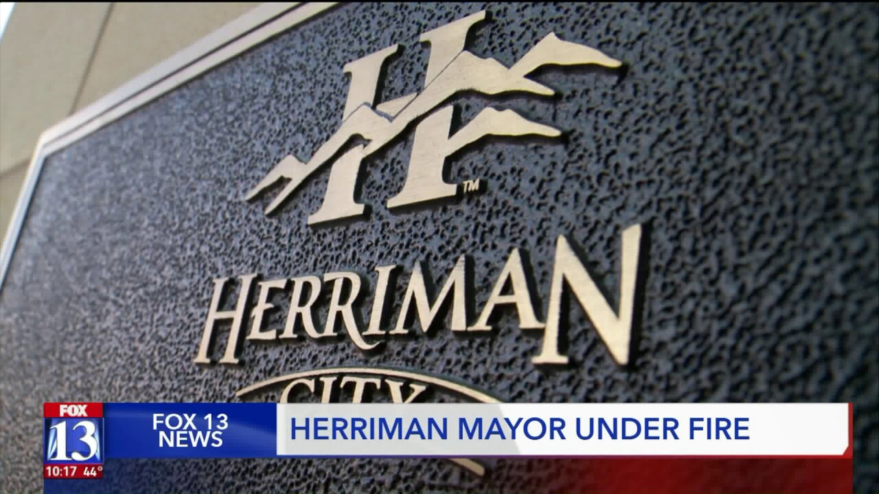 Herriman City Mayor being investigated by city council for alleged unauthorized spending of city money