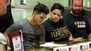 Calallen's A.J. Brown signs NLI with Harding University