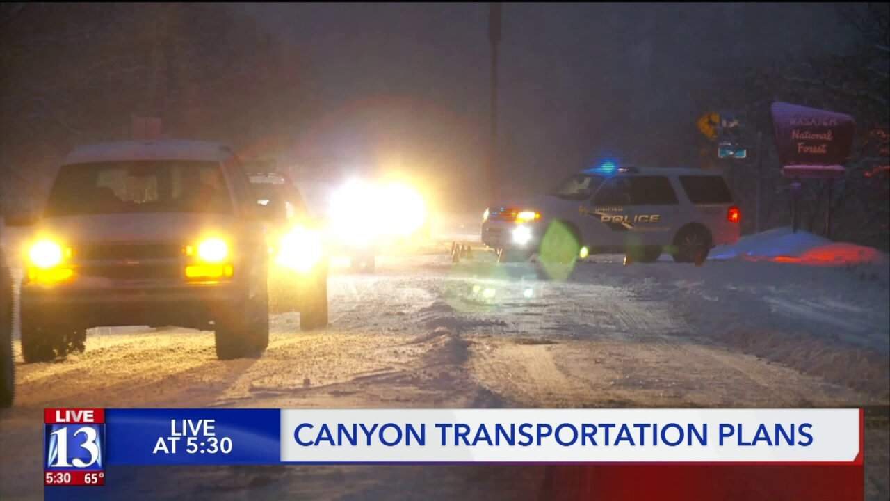 UDOT searching for Big, Little Cottonwood Canyon traffic solutions
