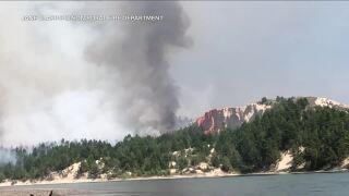 Horseshoe Fire burning 140 acres, 20% contained