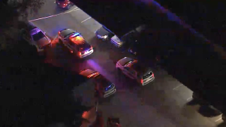 Police situation near Interstate 17 and Loop 101