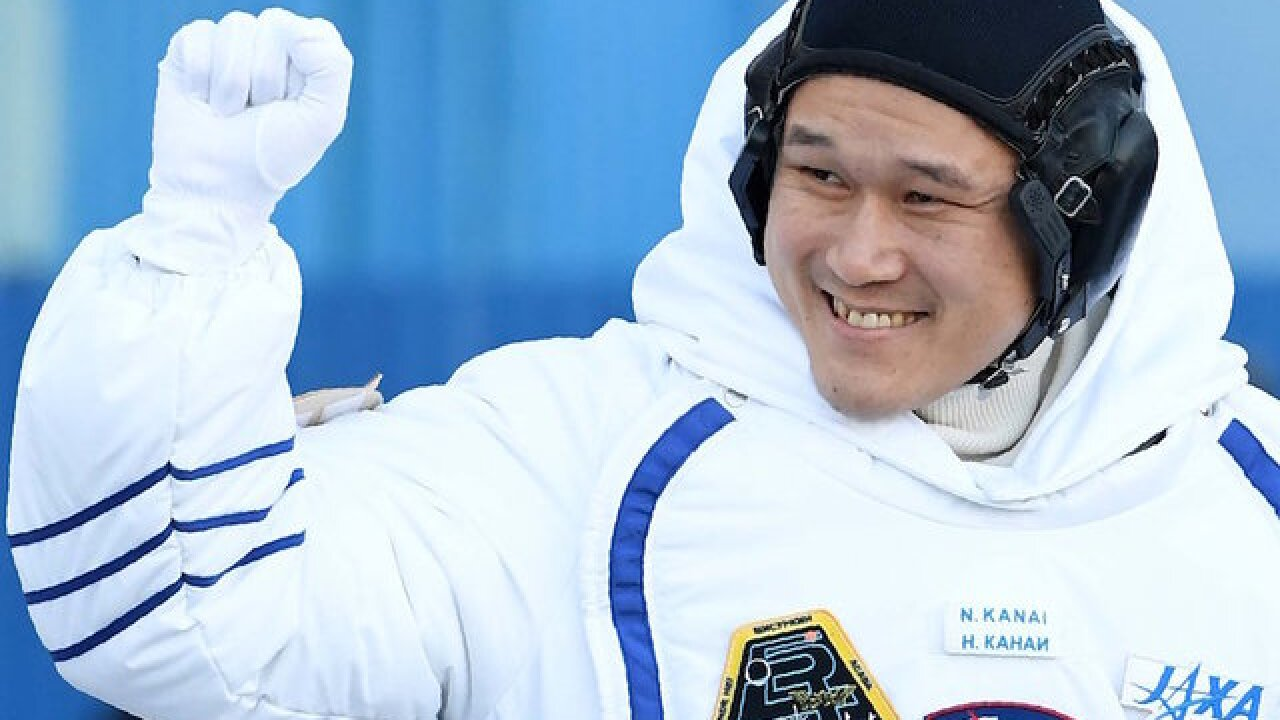 Japanese astronaut apologizes for claiming he grew 3.5 inches in space