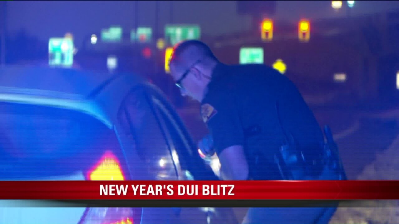 UHP looks for impaired drivers in New Year 'DUI blitz'