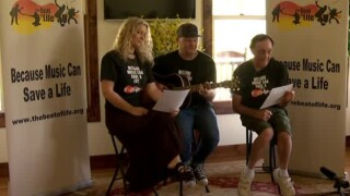 Songwriters Partner with Mentally Ill to Share Stories