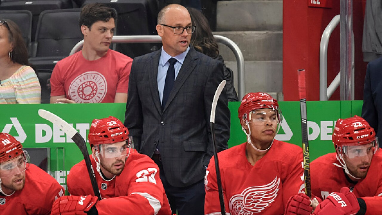 Steve Yzerman on possible Jeff Blashill's future: 'As of right now, I don't plan to make a change'