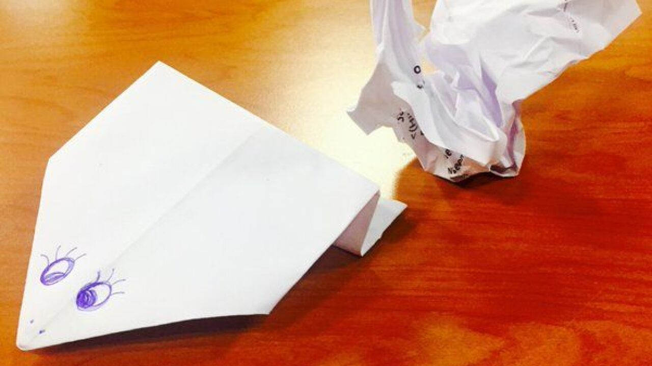 Second Cup: Celebrating Origami Day