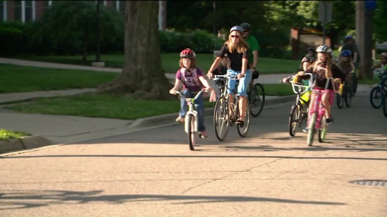 Bike To School day teaches kids safe bicycle riding