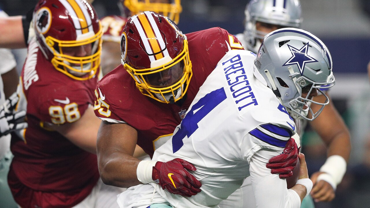 'Skins scoop: Longtime ESPN NFL analyst says NFC East division is a 'toss up' in2019