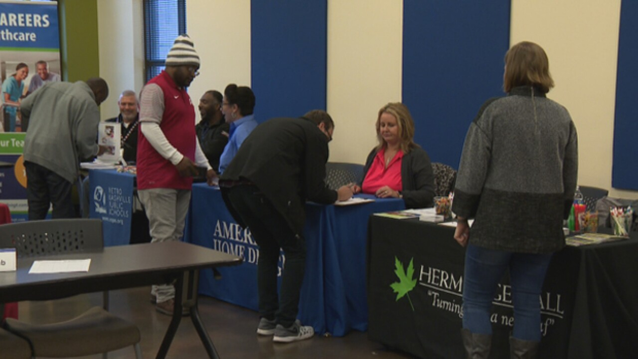 Goodwill holds job fair to fill more than 500 positions