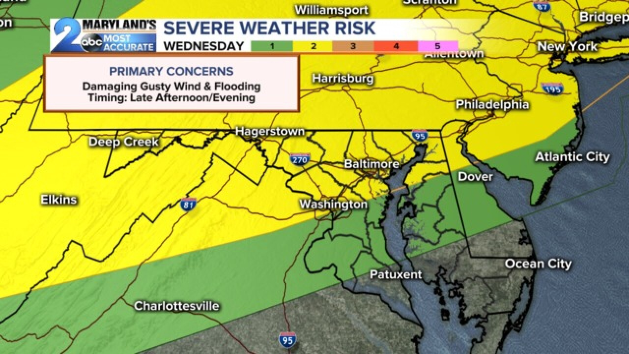 Severe Weather Possible....