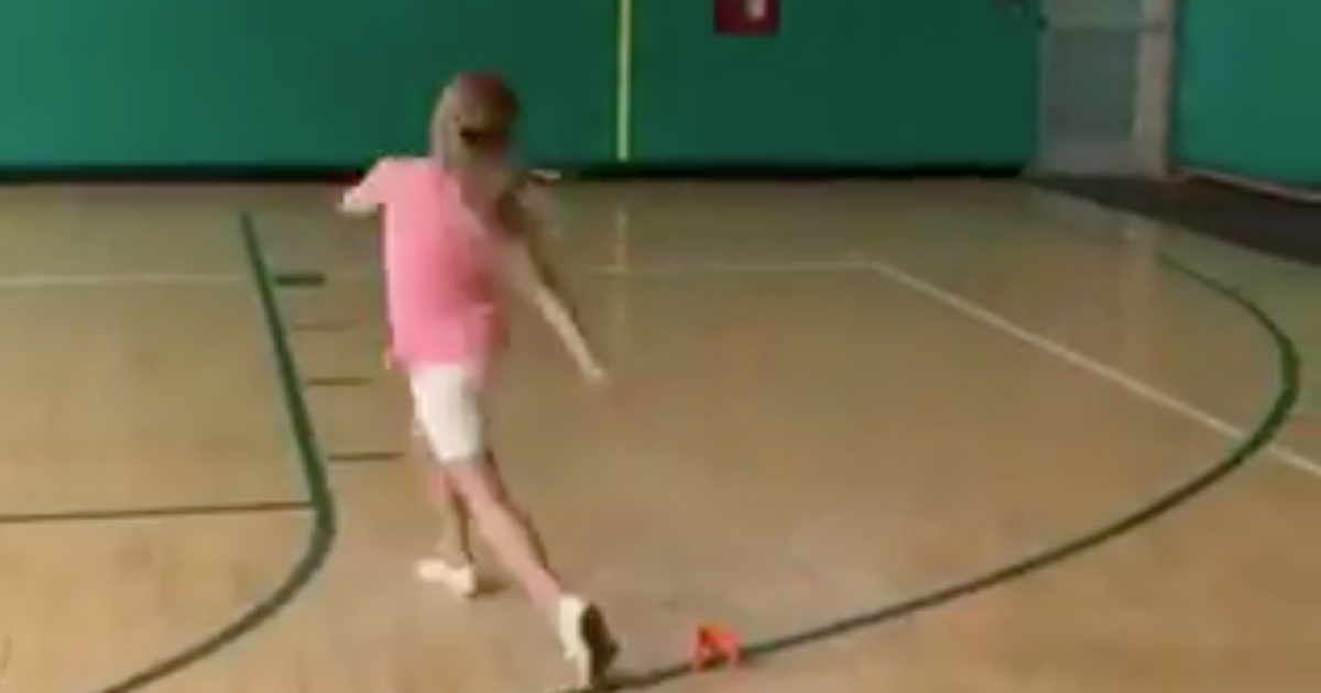 Canton third grader's impressive field goal goes viral