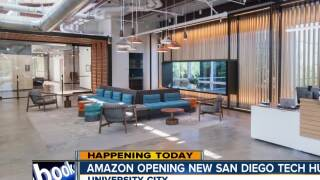 Amazon's new Tech Hub in San Diego opens