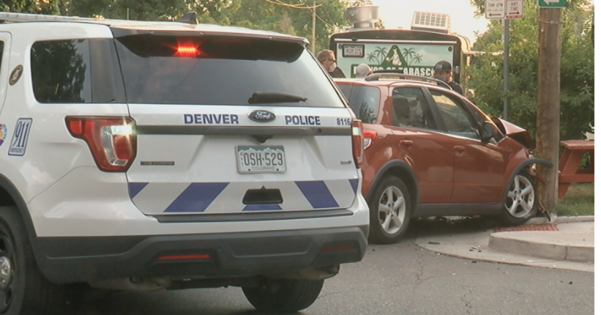 Crash in front of Denver brewery nearly injures 3, neighbors ask for stop signs at intersection