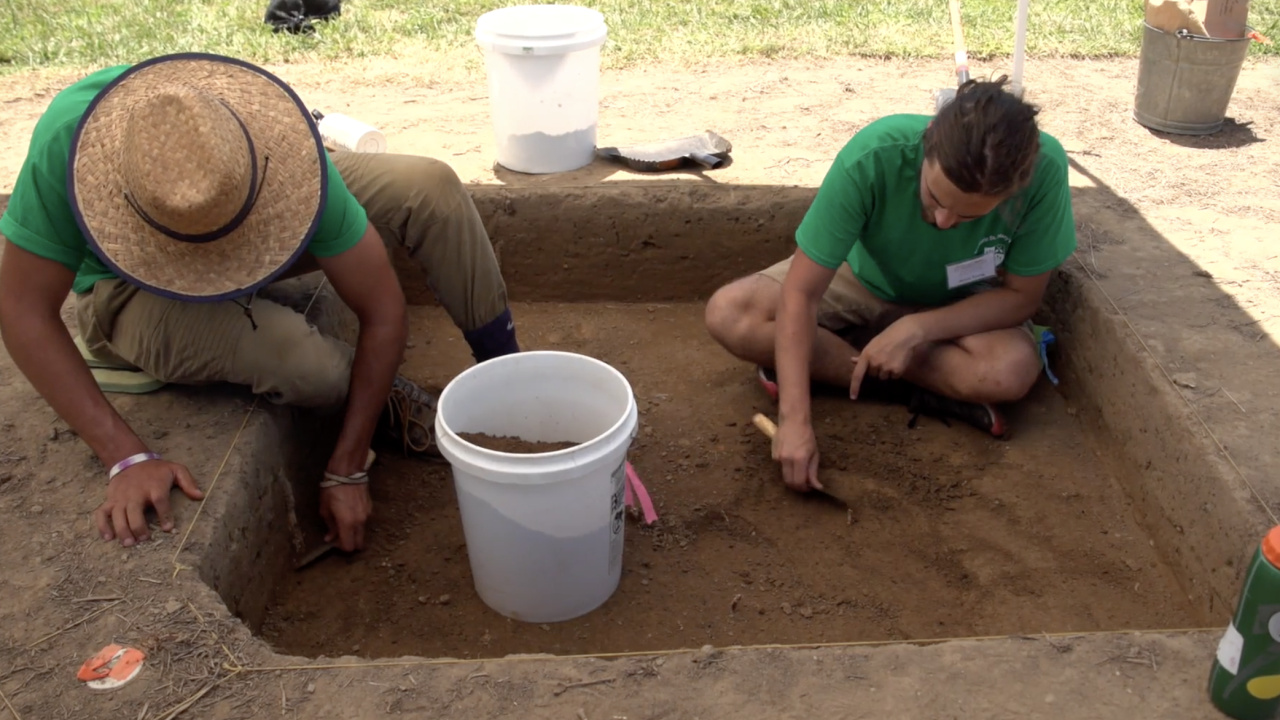 Every summer, college students come out to Historic St. Mary's City, Maryland, to attend its archaeology field school. While there, they learn valuable archaeology skills that they can bring back to their communities.