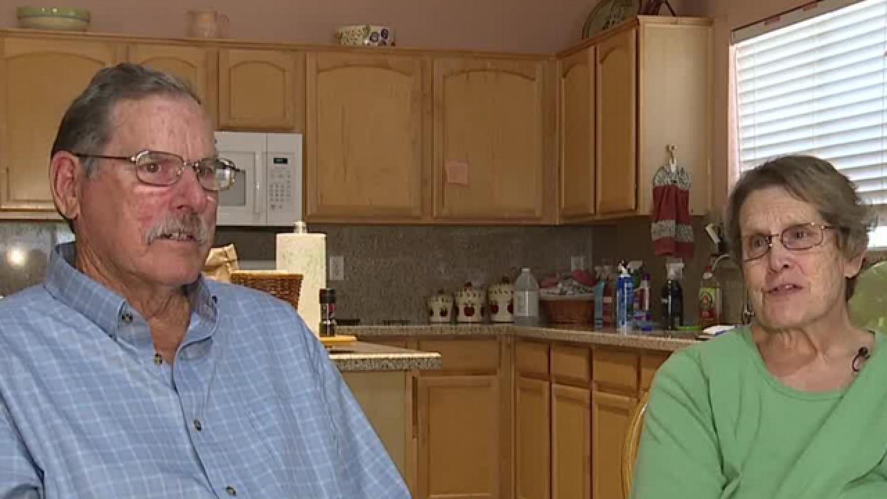 Las Vegas couple struggles with Alzheimer's