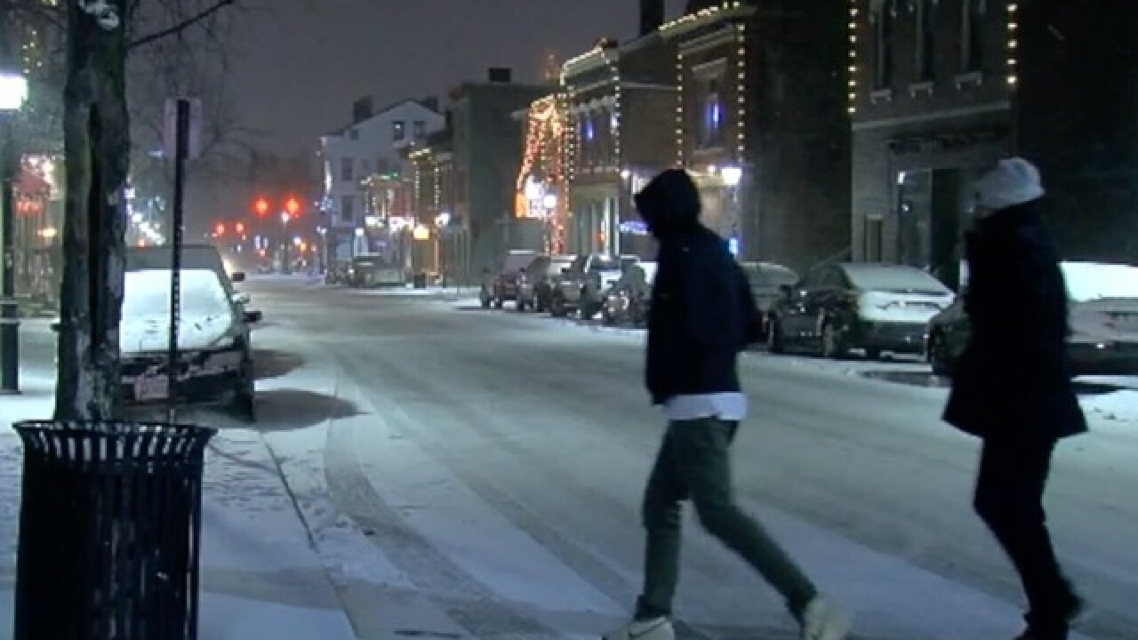 Timeline: Winter storm poised to hit Tri-State