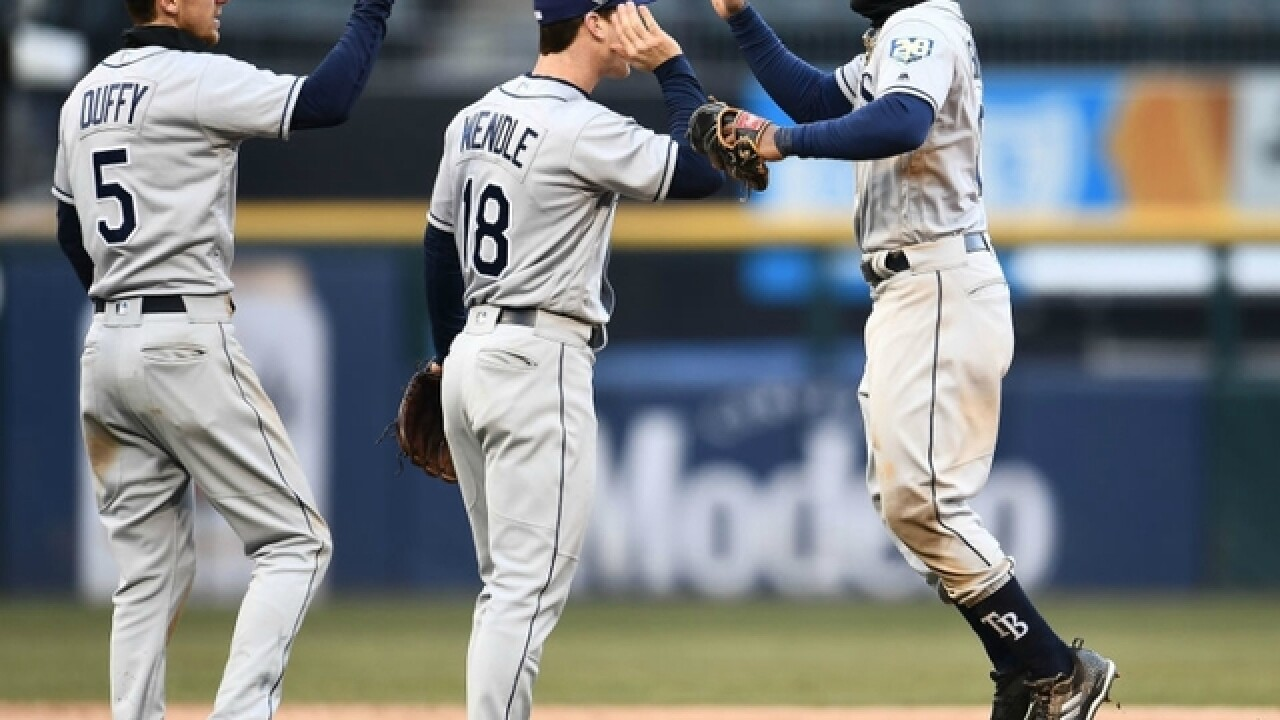 9324f96a7 Mallex Smith ties career high with 4 hits