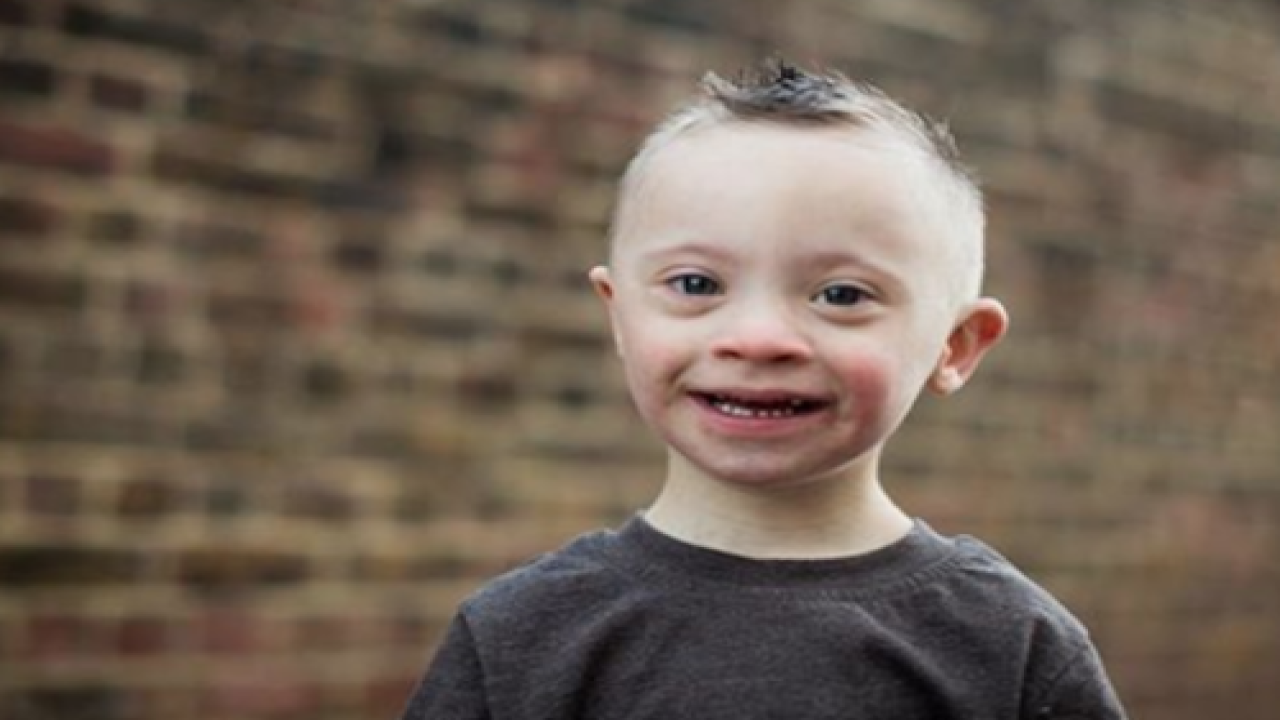 This 5-year-old Model With Down Syndrome Is Melting Hearts With His Huge Smile