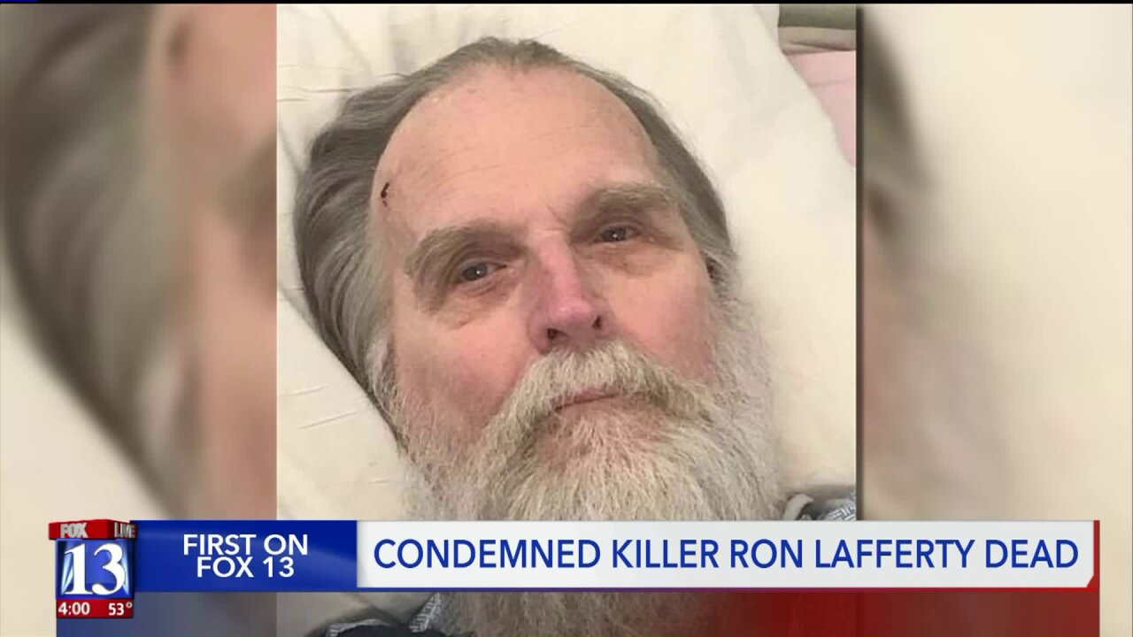 Notorious Utah killer Ron Lafferty dies in prison of natural causes