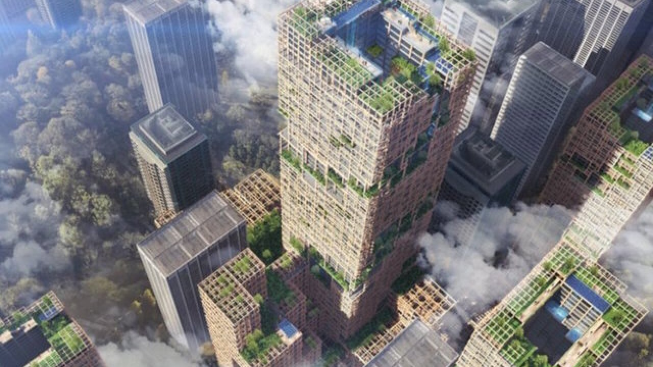 This country is building the world's tallest wooden skyscraper for $5.6 billion