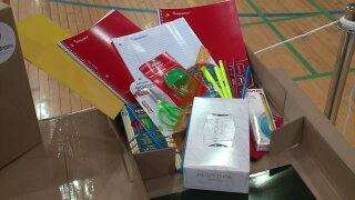 West Michigan construction company collecting school supplies