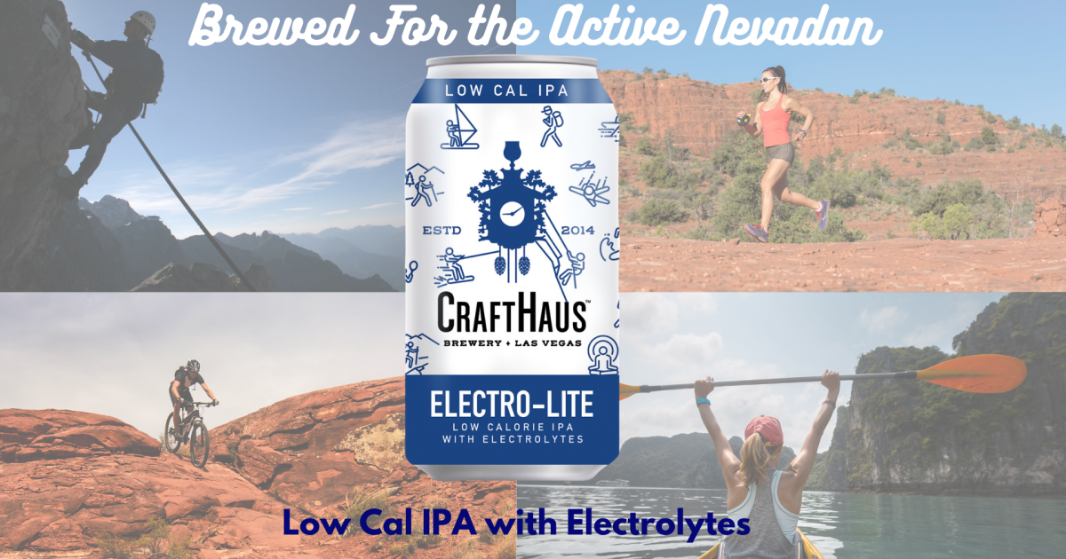 CraftHaus Brewery releases Nevada's first low-calorie IPA with ...