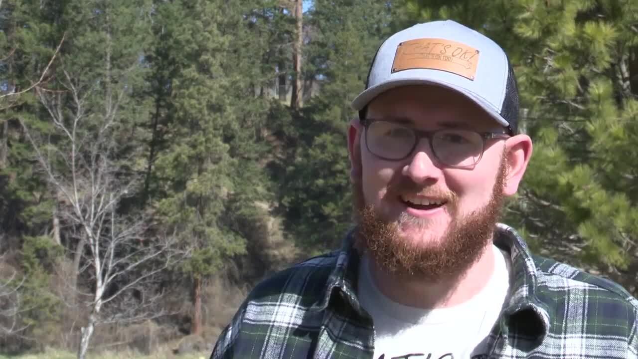 Justin Schiele, a content creator on TikTok