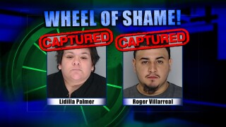 Wheel Of Shame Fugitives Arrested: Lidilla Palmer & Roger Villarreal
