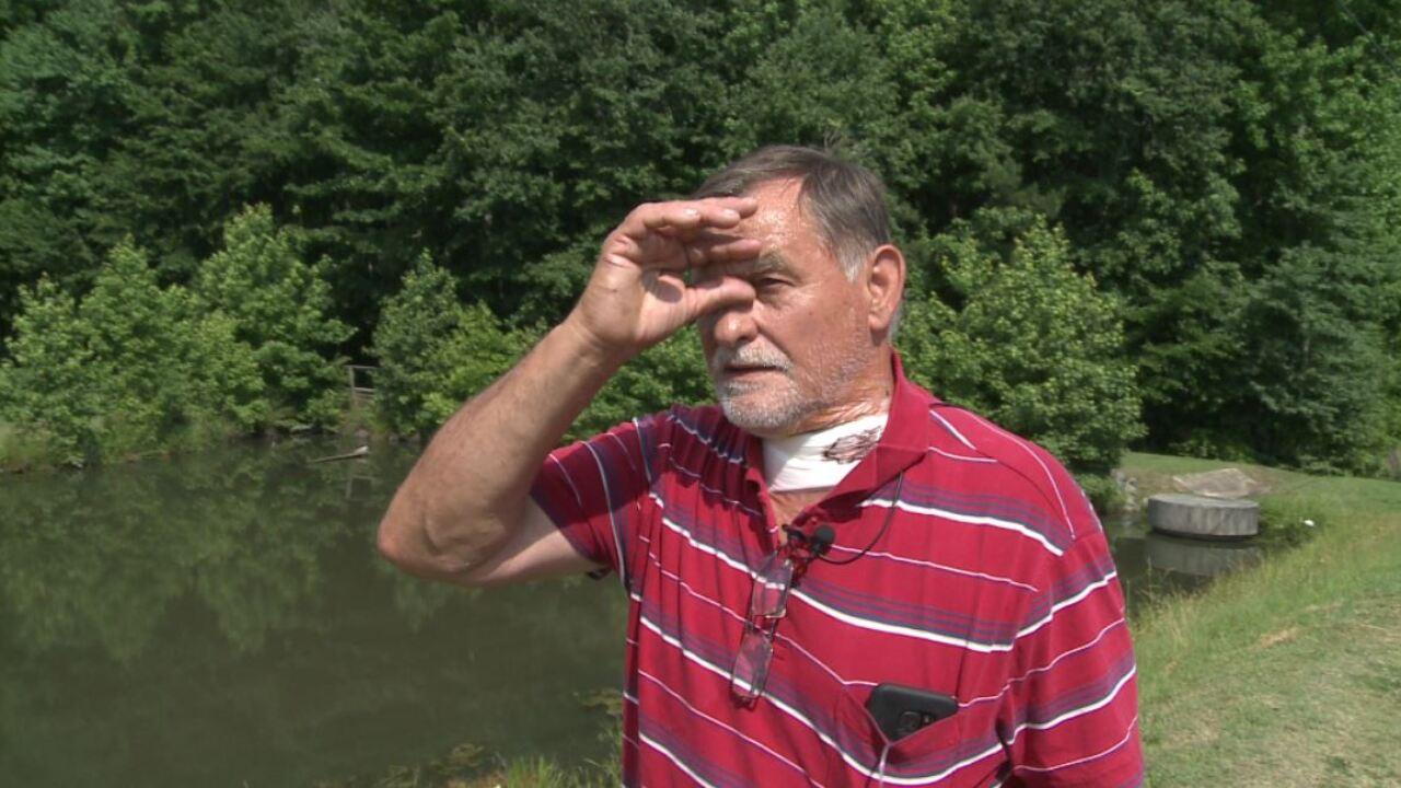 Stranger in the woods slashes Petersburg businessman'sthroat