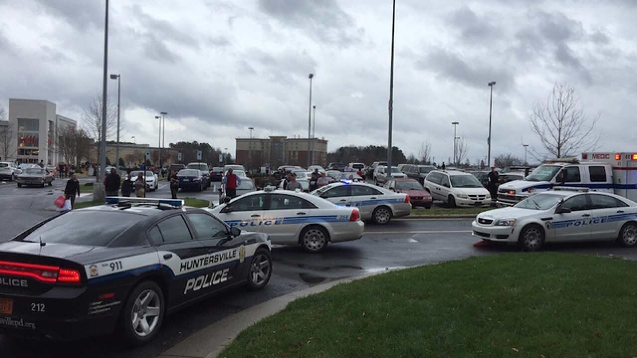 Report: Possible shooting inside N.C. mall