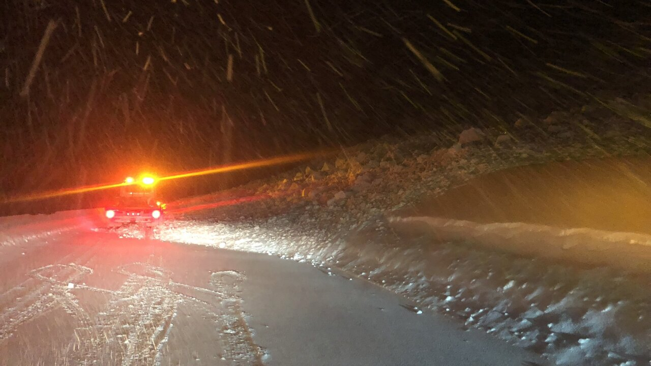 Avalanche near Vail Pass summit on March 7, 2019-photo courtesy Colorado State Patrol