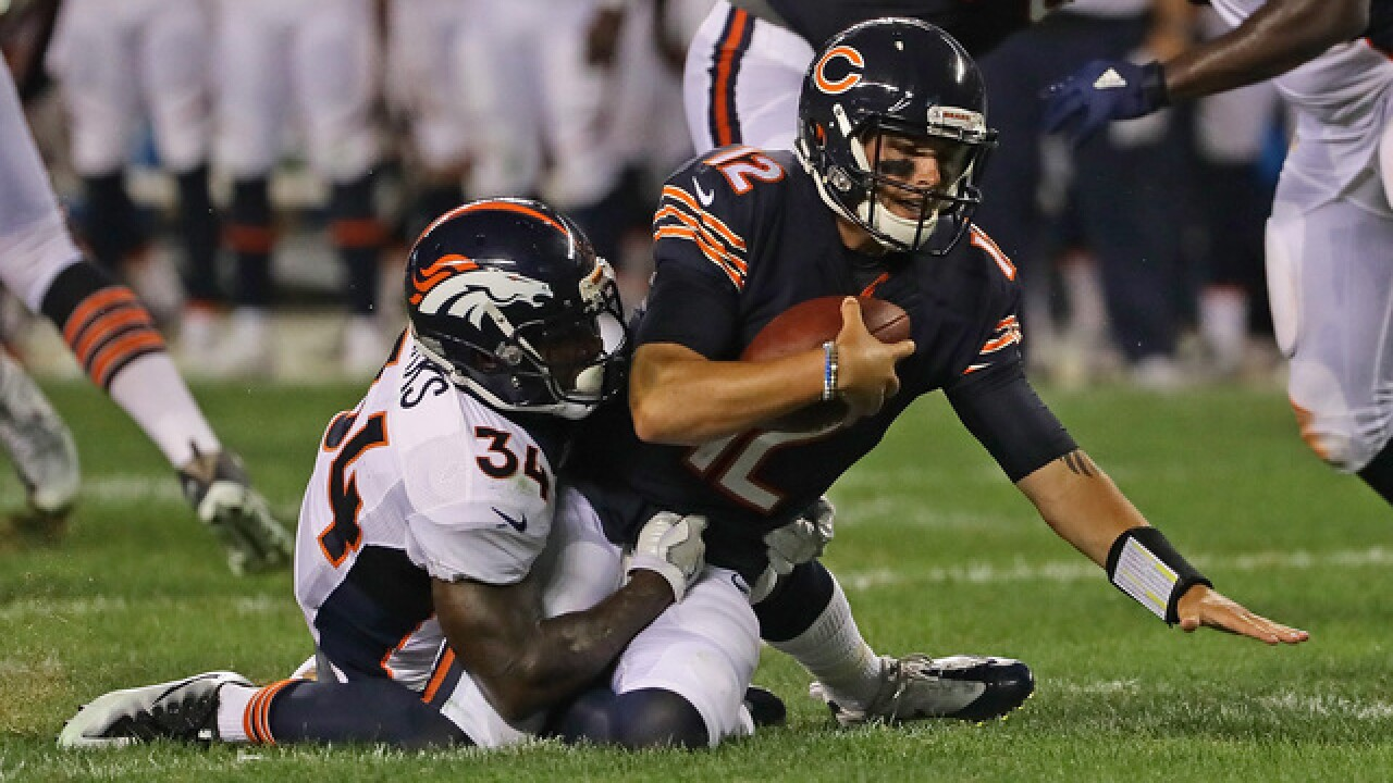 VIDEO: Broncos defense makes a statement, mauls Chicago